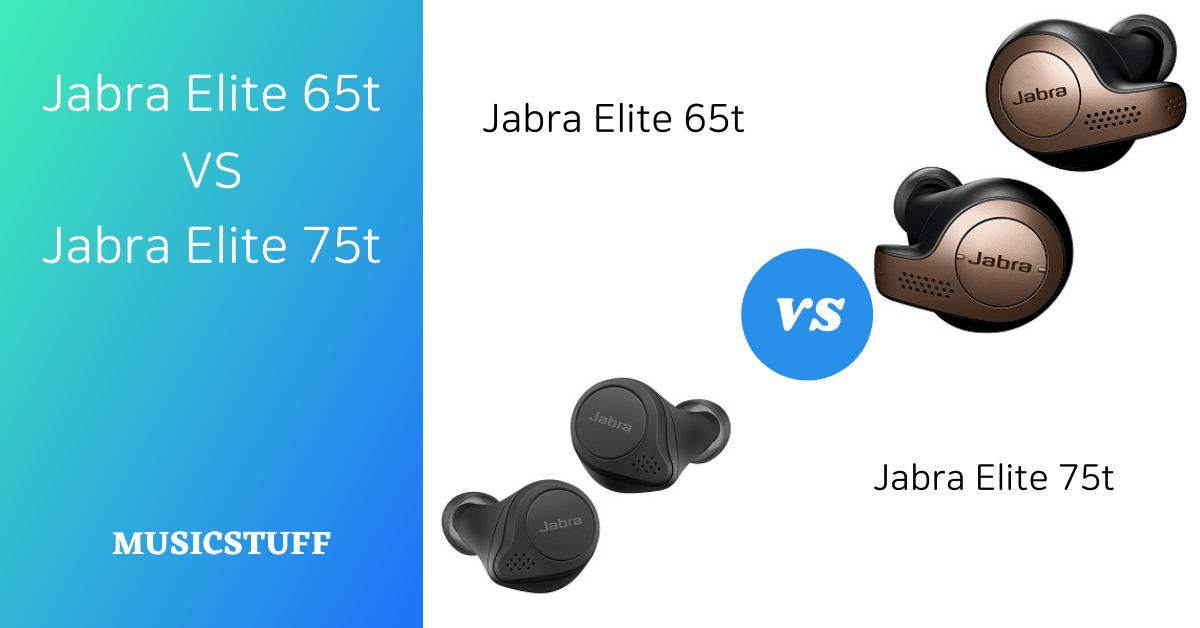 Jabra Elite 65t vs 75t