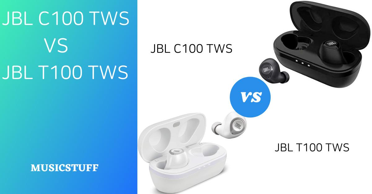 Jbl C100 Tws Vs Jbl T100 Tws