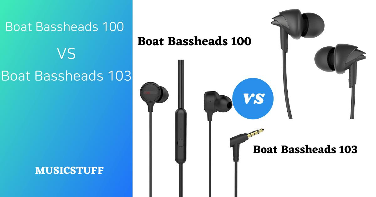 boat Bassheads 100 vs 103
